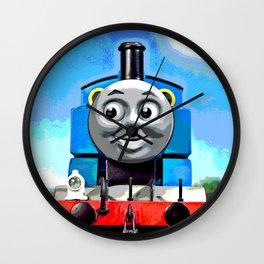 Thomas Has A Smile Wall Clock