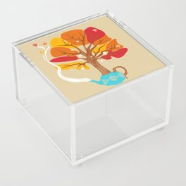 Tea Leaves Acrylic Box