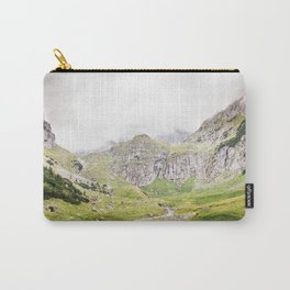 The Alps, Mountains, Landscape Scene Carry-All Pouch