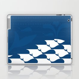 Whale in the ocean Laptop & iPad Skin