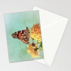 Butterfly on Lantana Stationery Cards