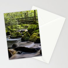 Bridge at Padley Gorge Stationery Cards