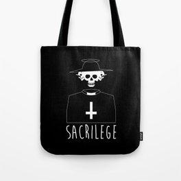 Sacrilege Tote Bag