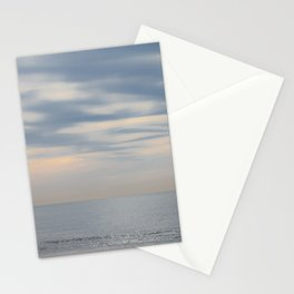 Morning at the ocean Stationery Cards