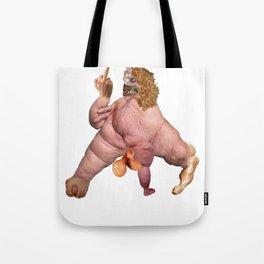 PISSED MONSTER Tote Bag
