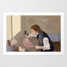 Feuilly's Studio Art Print