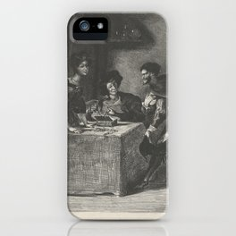Mephistopheles presents himself to Martha (Goethe, Faust),1825–27 iPhone Case