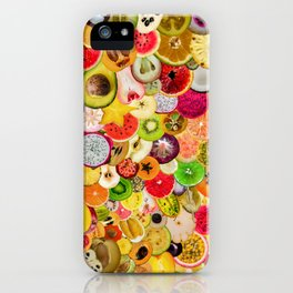 Fruit Madness (All The Fruits) iPhone Case