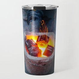 controlled burn Travel Mug