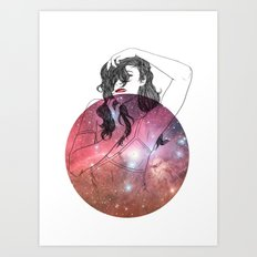We are All Made of Stardust #2 Art Print