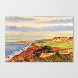 Bandon Dunes Golf Course 13th Hole Canvas Print
