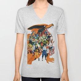 Naruto shippuden Unisex V-Neck