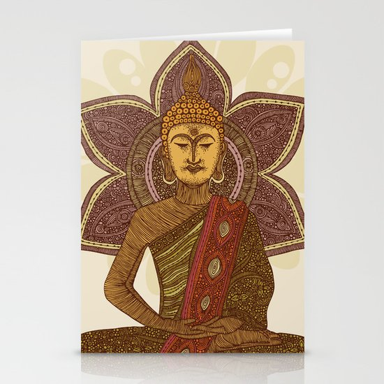 Sitting Buddha Stationery Cards