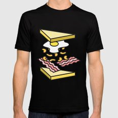 Sandwich MEDIUM Mens Fitted Tee Black