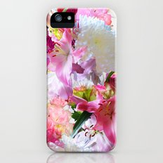 Lush Lilies Slim Case iPhone (5, 5s)