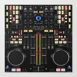 DJ Set NS7 Denon Mc6000 Canvas Print