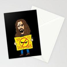 Zombie VS Skatepark Stationery Cards