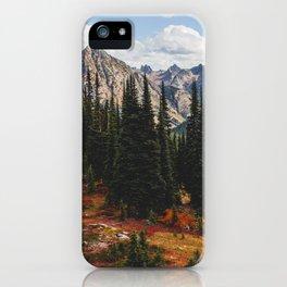 Autumn in North Cascades iPhone Case