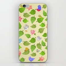 birds&leaves iPhone & iPod Skin