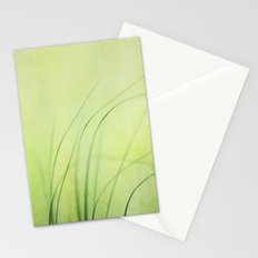 Swaying Grasses (with texture) Stationery Cards