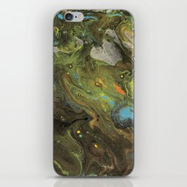 Acrylic Paint Pour (Dirty Pour) 1 iPhone Skin