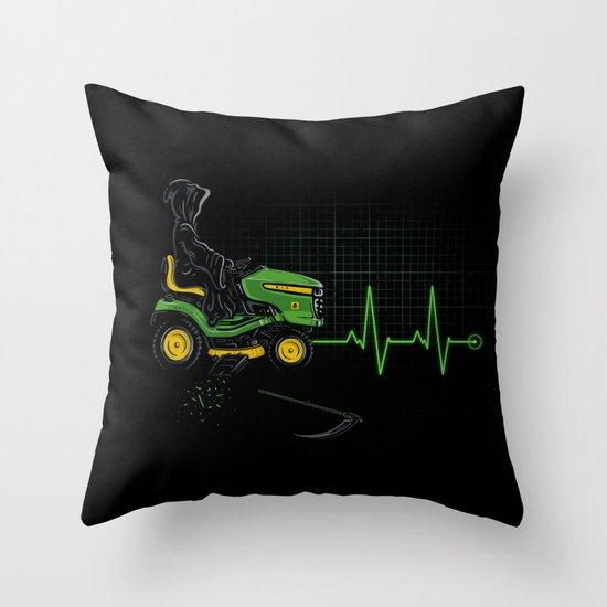 Modern Times Throw Pillow