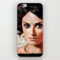 angel iPhone & iPod Skins featuring Angel by Veronica  Kokoreva
