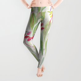 Eucalyptus Leaves Leggings