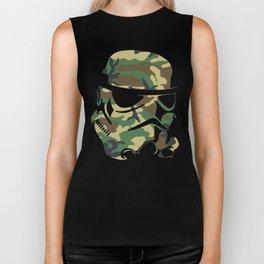 Camo Trooper Biker Tank