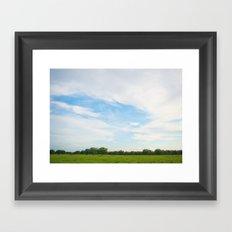 Country Sky Framed Art Print