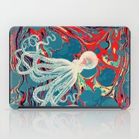 octopus iPad Cases featuring Octopus by Pepe Psyche