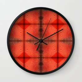 W is for Water Wall Clock