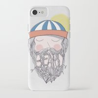 beard iPhone & iPod Cases featuring BEARD by Nazario Graziano