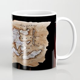 Map to the Afterlife Coffee Mug