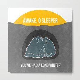 Awake O Sleeper Metal Print