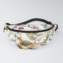 Floral and Birds XXXII Fanny Pack