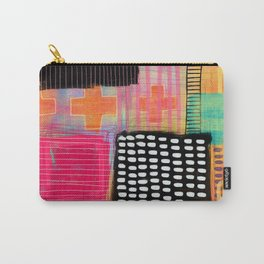 sometimes it all works - abstract painting Carry-All Pouch