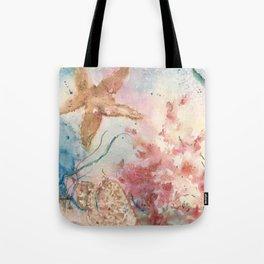 Jolie Etoile de Mer Tote Bag