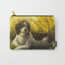 Jake: Sheepdog Portrait Carry-All Pouch