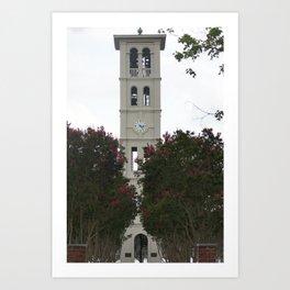 Furman tower Art Print