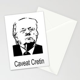 Caveat Cretin Stationery Cards