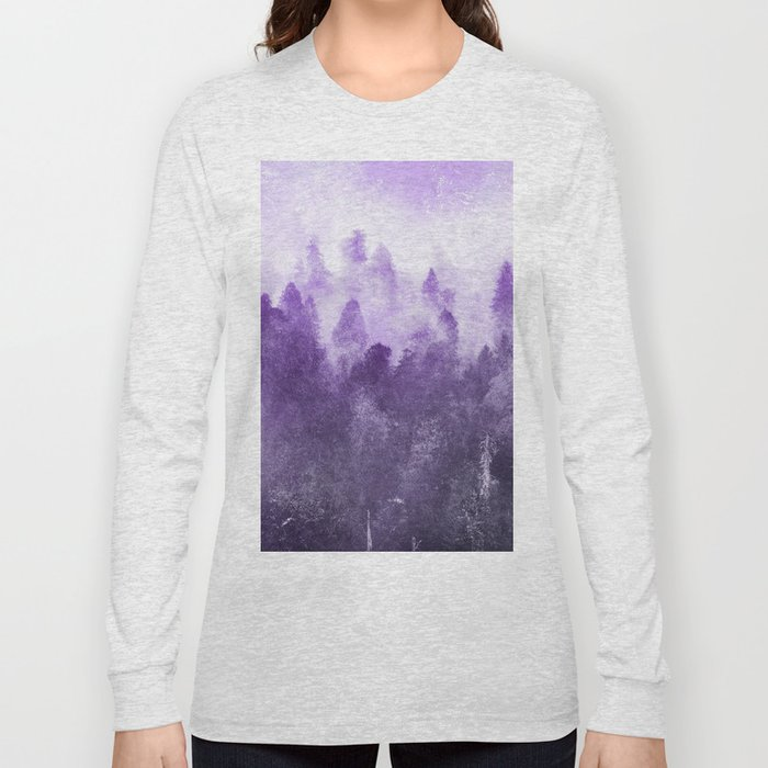 Ultra Violet Adventure Forest Long Sleeve T-shirt