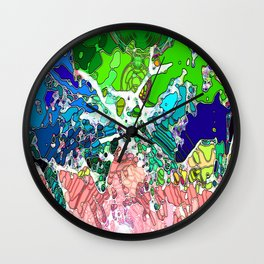 Rutting Stags Wall Clock