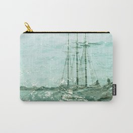 so we beat on, boats against the current... Carry-All Pouch