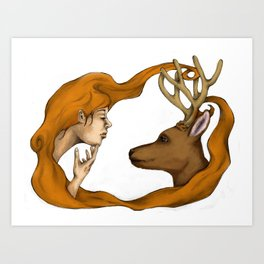 nurture vs nature Art Print