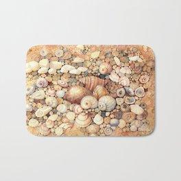 Shells on Sand Bath Mat
