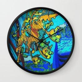 Amazing Seahorse Wall Clock