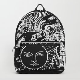 The Sun and Moon Tarot Cards | Obsidian & Pearl Backpack