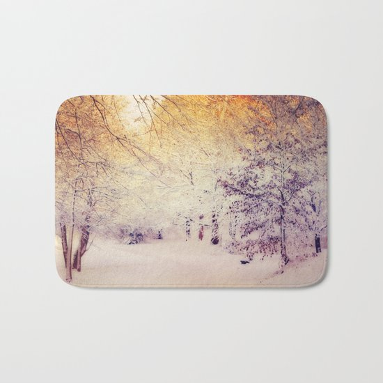 Snow Dream Bath Mat