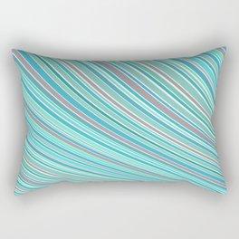 Blue pattern Rectangular Pillow